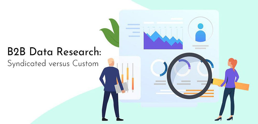 How businesses can make the most out of B2B data research: Syndicated versus Customised Research #1