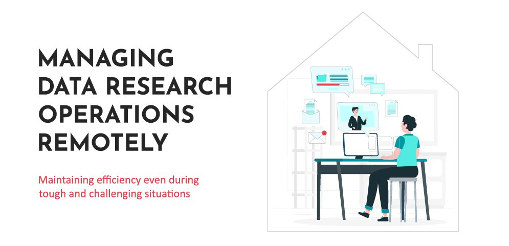 Can data research be conducted effectively during a work-from-home scenario?